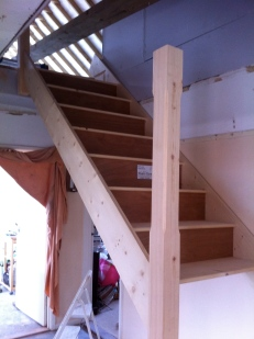 Construct new staircase