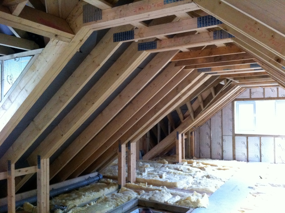 Construction of domestic roof trusses