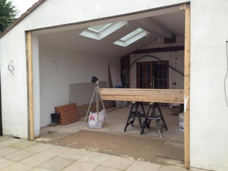 New build single storey extension