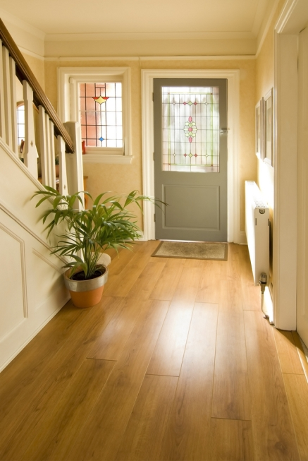 Fit solid oak flooring