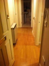 Fit laminate flooring
