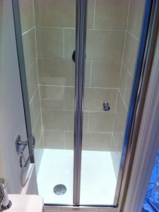 Installation of en-suite shower