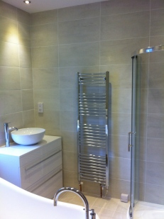 Complete luxury bathroom installation