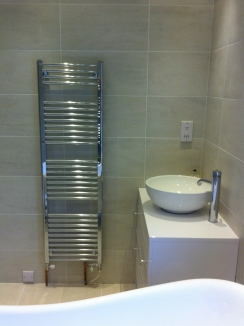 Wall tiling & luxury bathroom installation