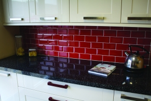 Wall tiling & kitchen installation
