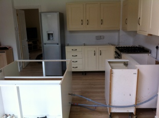 Complete kitchen install