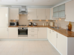 Complete luxury kitchen installation & solid wood worktops